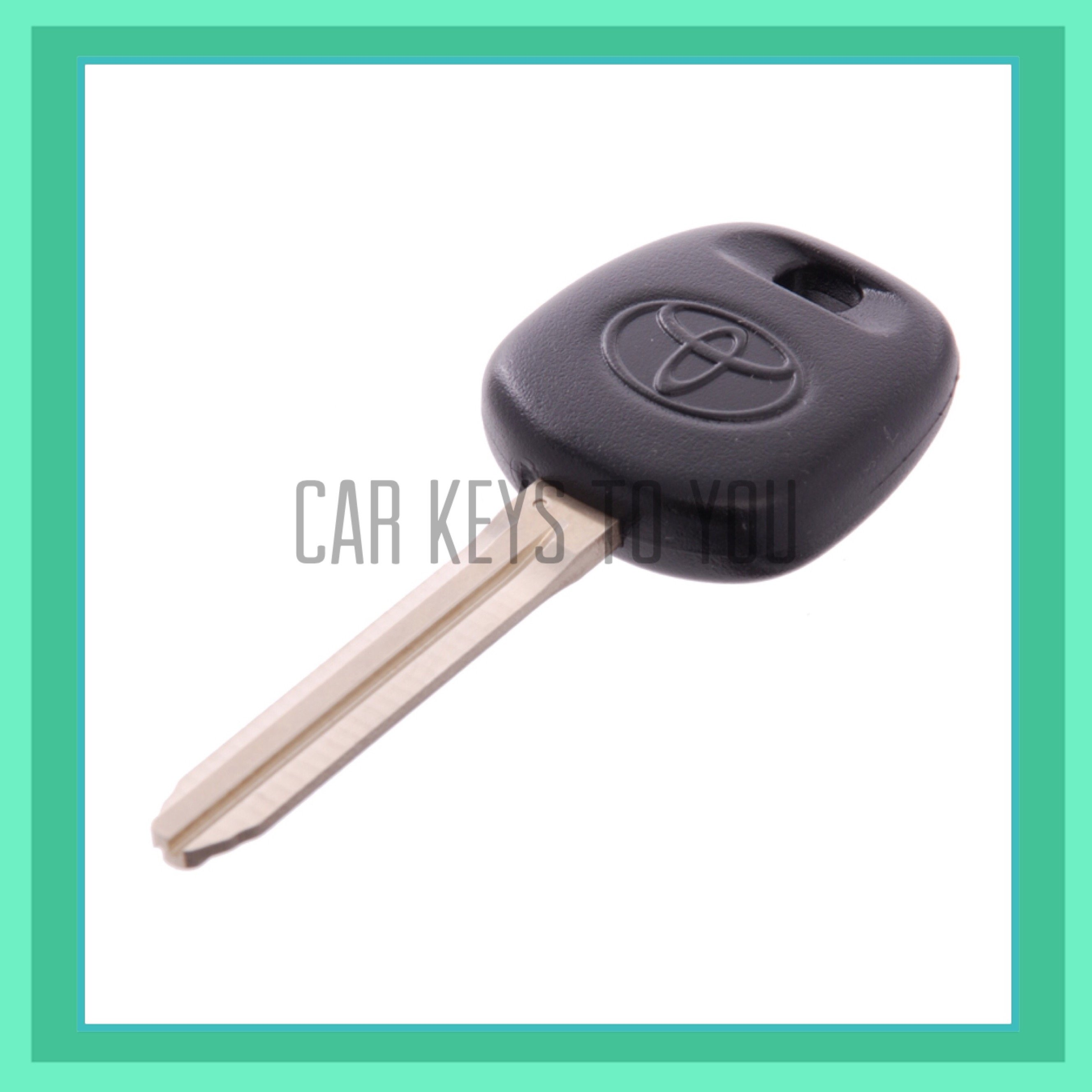 Toyota Rav 4 Car Key and Remote, Suit 2006 to 2007