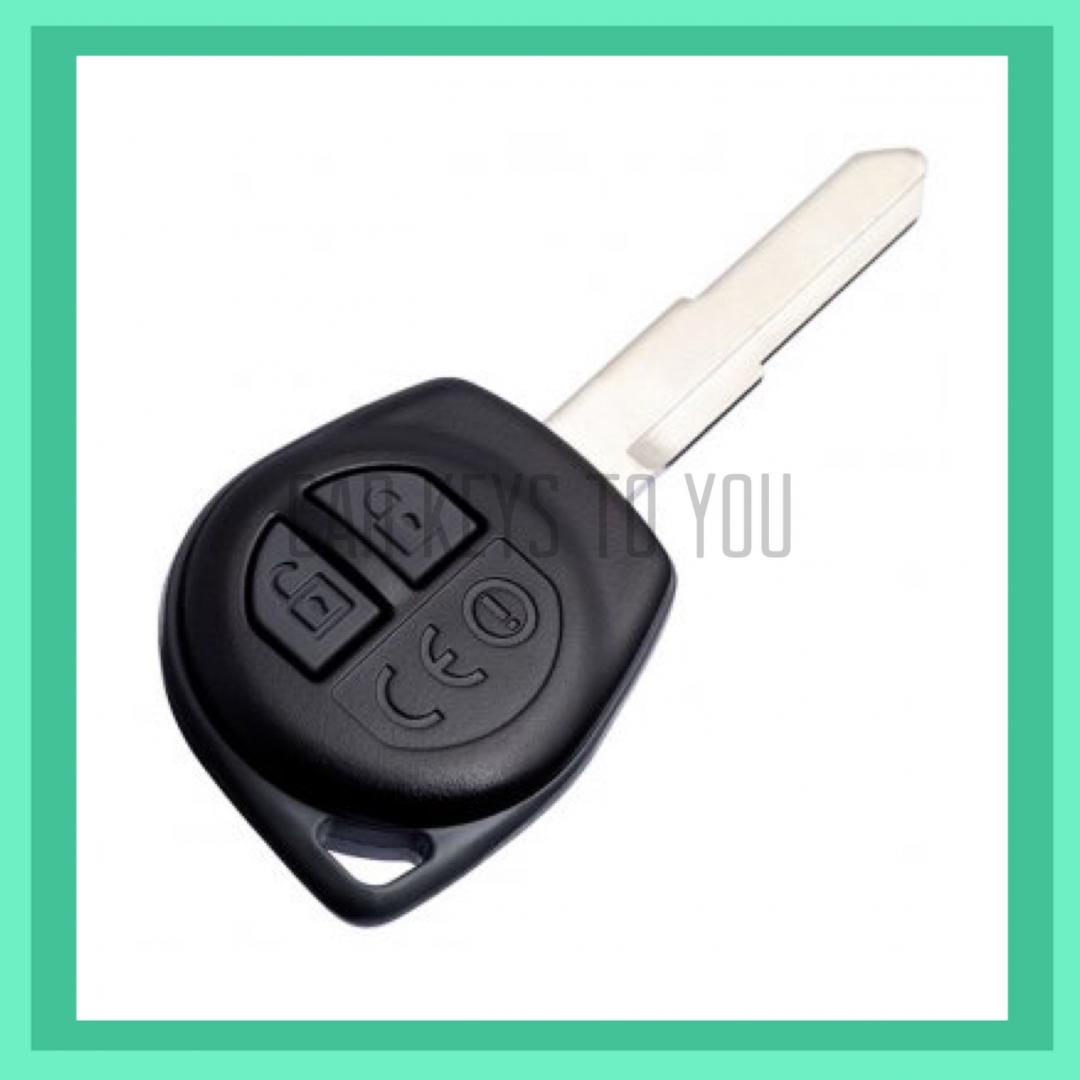 Suzuki SX4 Car Key and Remote. Suit 2007 - 2009