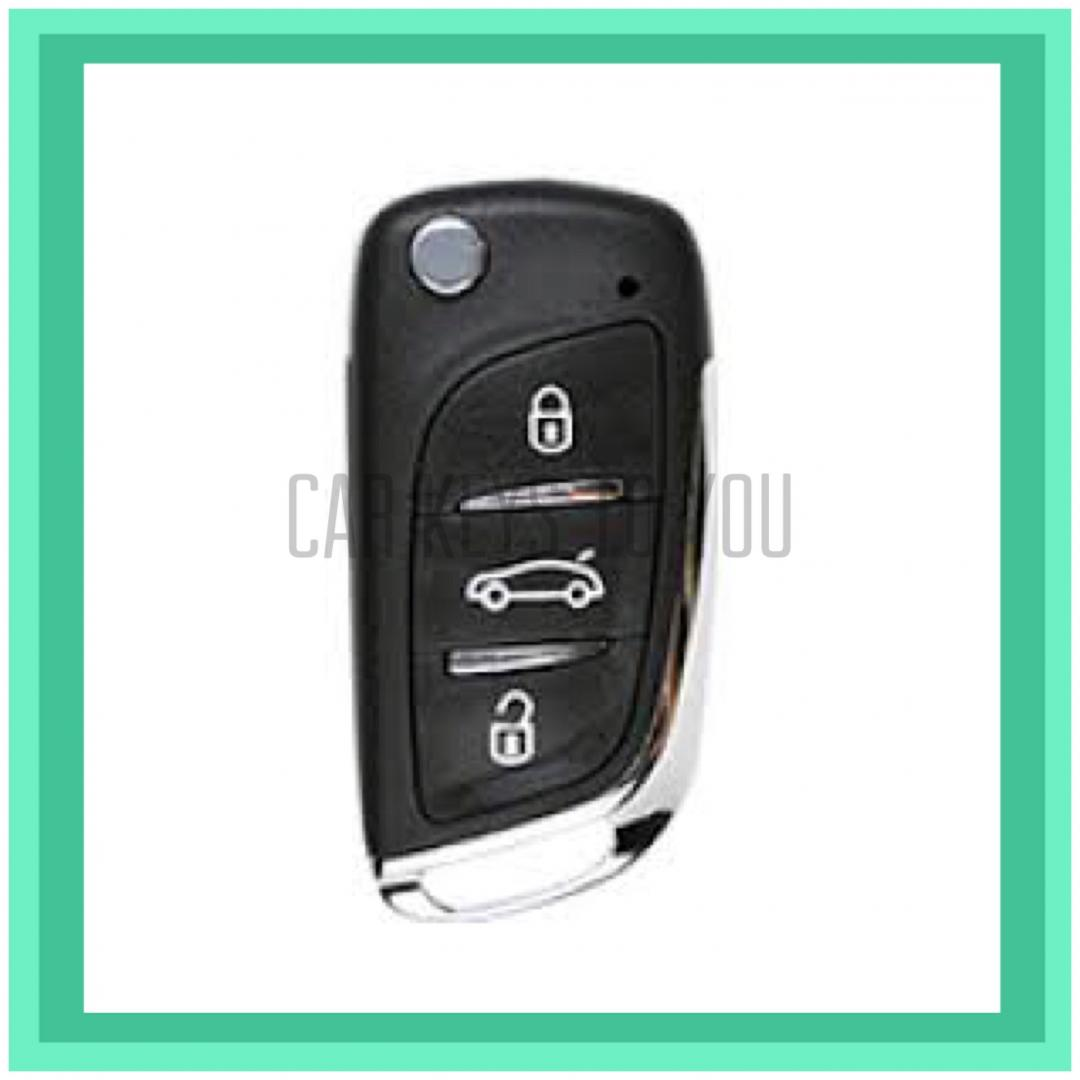 Mitsubishi Pajero Car Key and Remote, Suit NM and NP 2002 - 2007