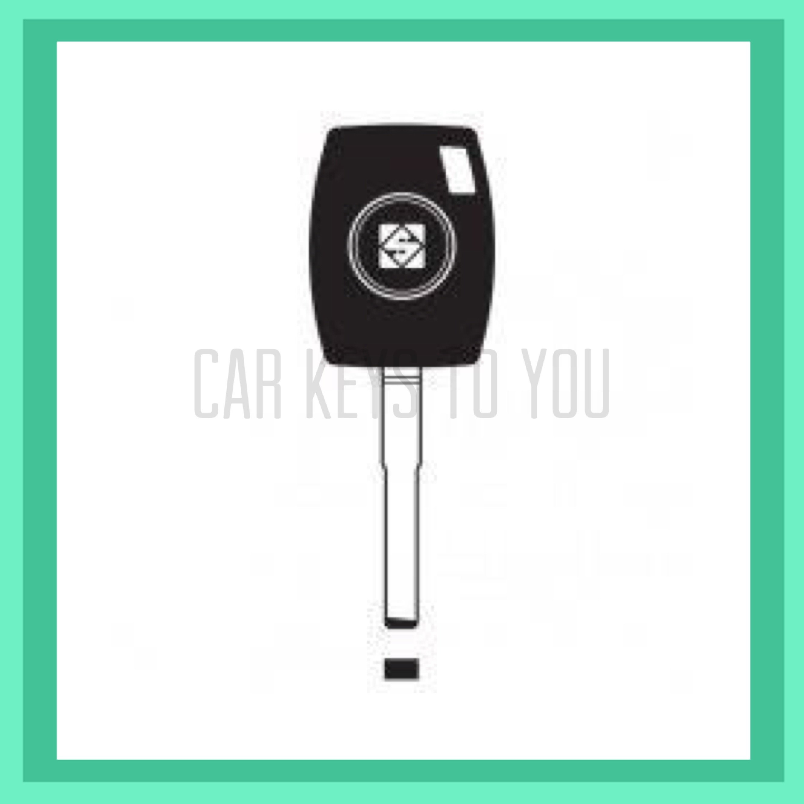 Mazda BT50 Car Key and Remot, Suit B32P/Q 2011 - 2015