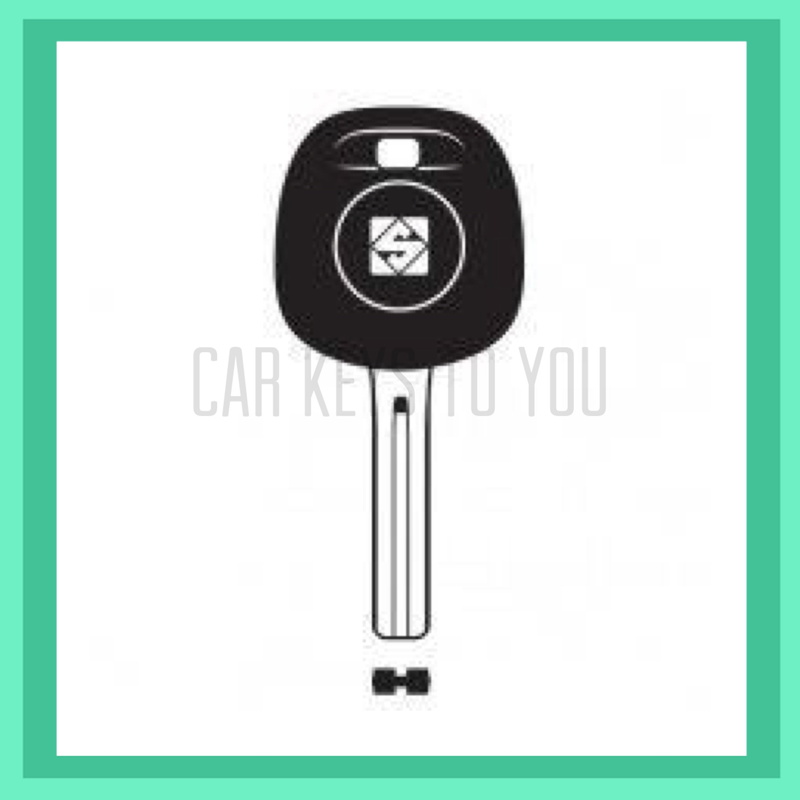 Toyota Landcruiser Car Key and Remote, Suit HDJ100/UZJ100 2002 - 2007