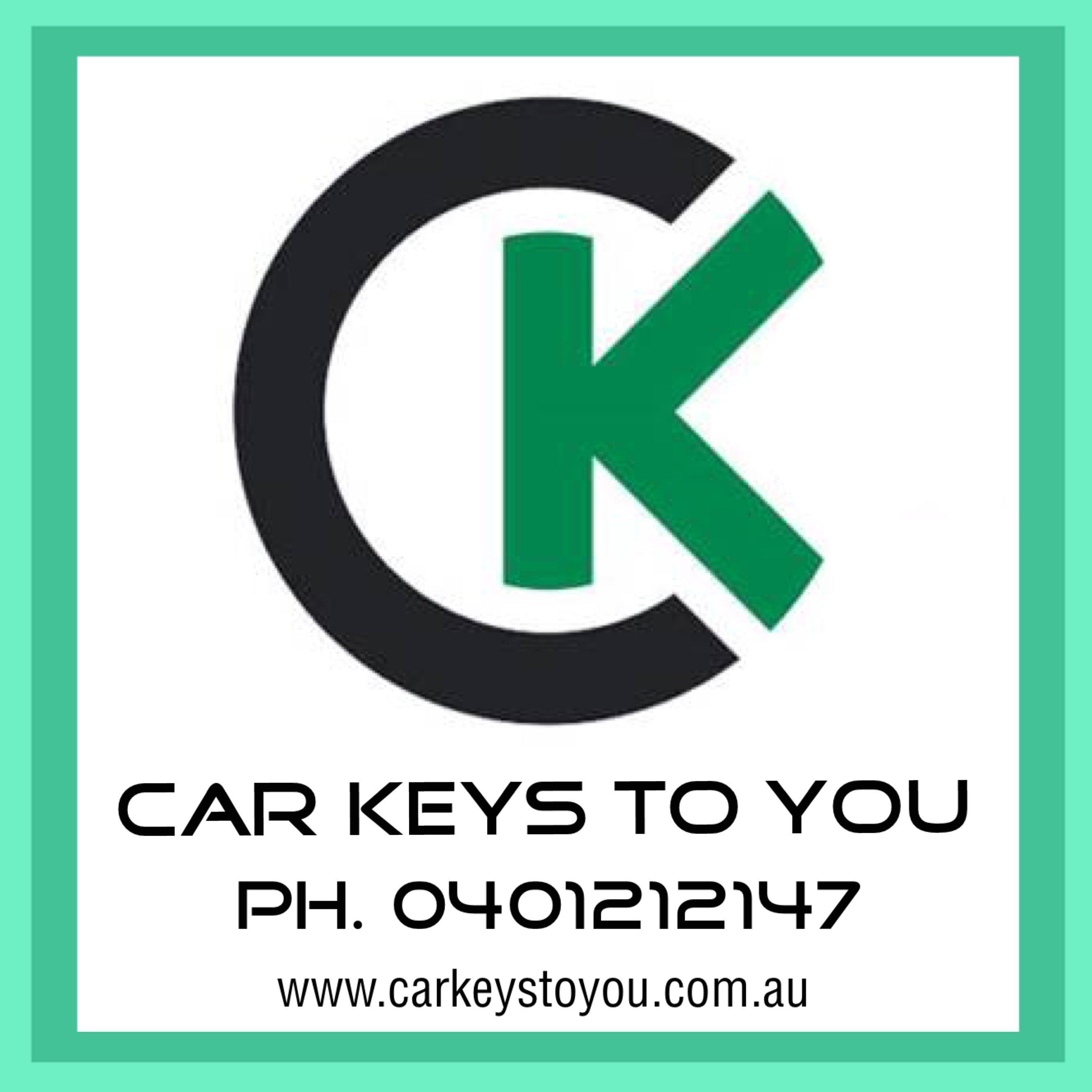 South East Queensland - Car Keys To You. Call Us