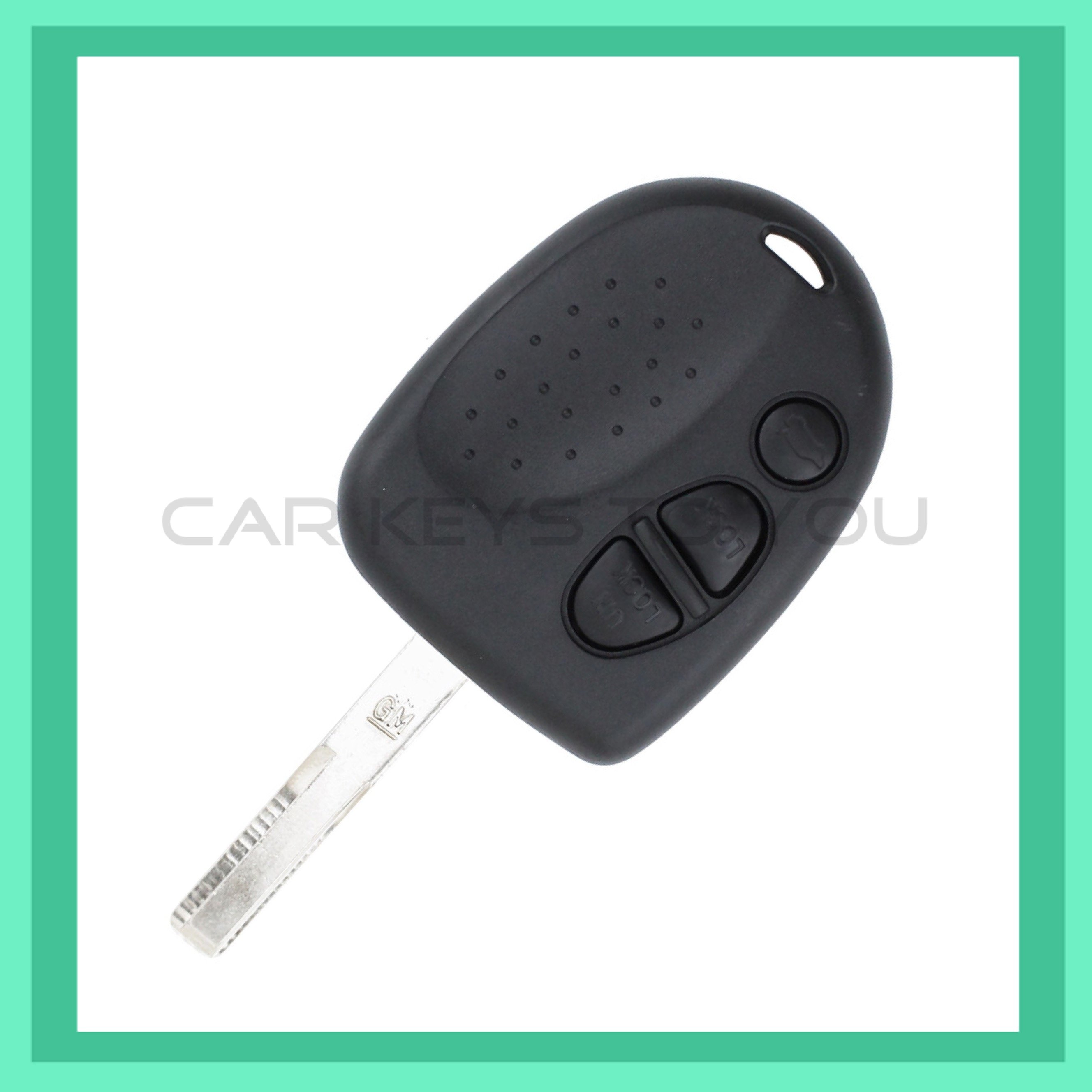 Commodore VY-VZ Series 2 Remote Car Key, 2002 - 2006