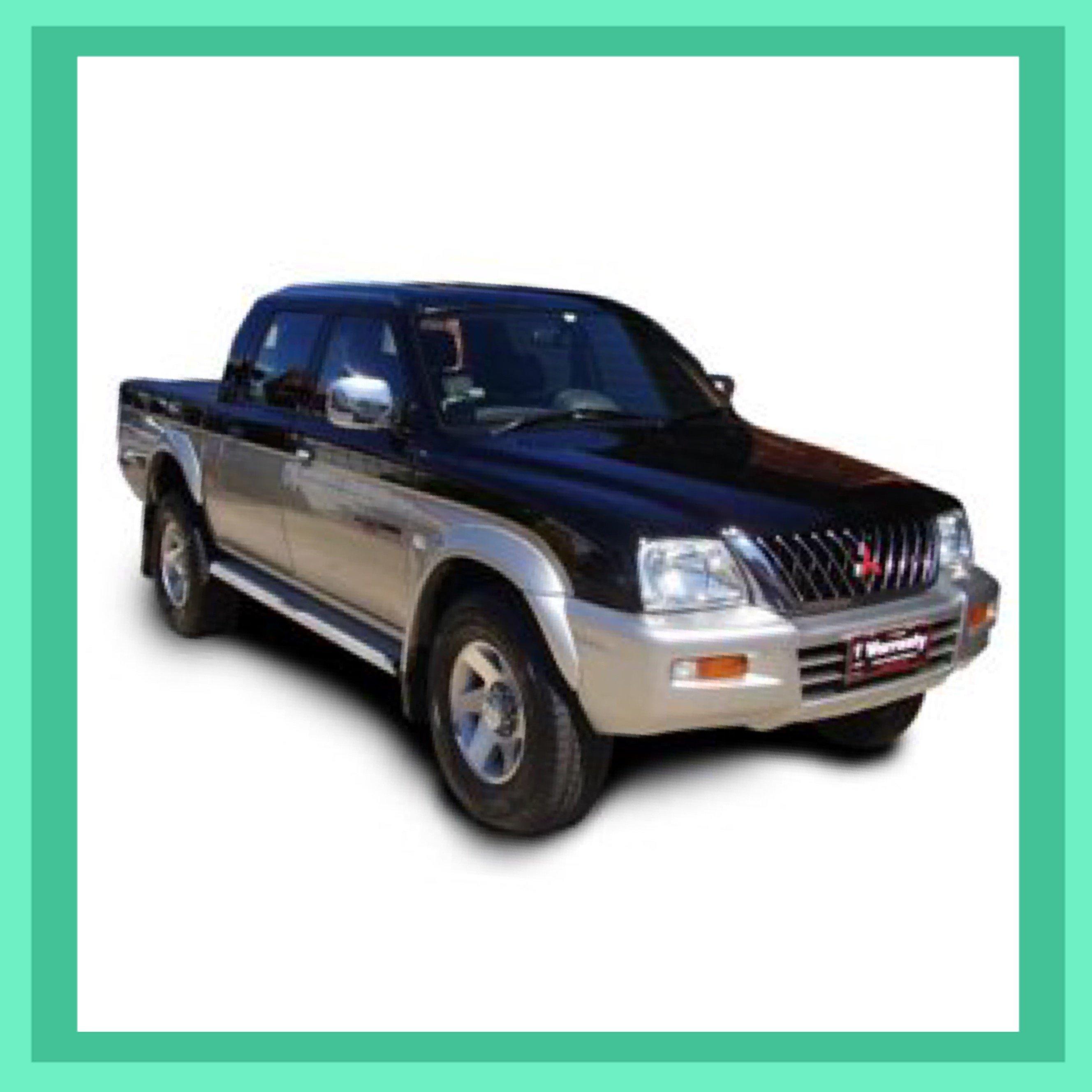 Mitsubishi Triton Car Key and Remote, Suit MK 2002 - 2007